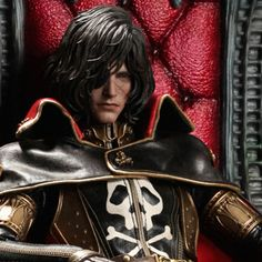 Captain Harlock with Throne of Arcadia Captain Harlock Sixth Scale Figure | http://ift.tt/2cHTDA0 shares #collectibles #toys collectible figures #moviecollectibles movie memorabilia pop culture figures movie figures collectible toys star wars collectibles action toys figures