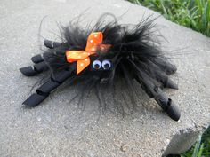 The Original Itsy Bitsy Spider Halloween Hair Bow. $9.00, via Etsy.