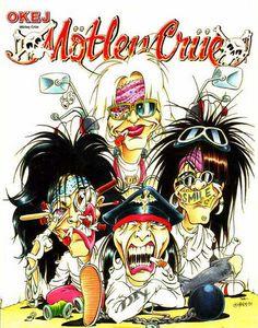 Motley of a Crue! 80s Rock Bands, Rock And Roll Bands, Rock N Roll Music, Cool Bands, Rock Roll, Motley Crue Dr Feelgood, Metallica, Musica Metal, Motley Crue Nikki Sixx