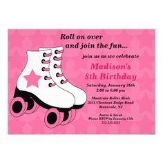 Free free template free printable roller skating birthday party skating birthday party invitation filmwisefo