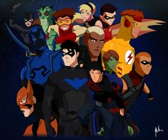 Young Justice Invasion Tribute by asemharun@deviantART