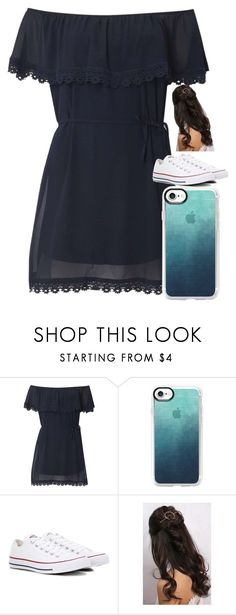 """Untitled #2417"" by laurenatria11 ❤ liked on Polyvore featuring Izabel London, Casetify, Converse and Rare London"
