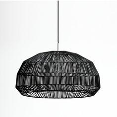 Curious Grace Nama 1 pendant light Black