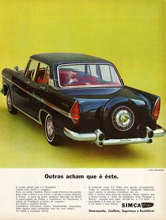 1965 Simca Presidence (Brazil)