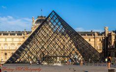 The Louvre. Paris France.