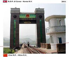 Confini amministrativi - Riigipiirid - Political borders - 国境 - 边界: 2011 CN-KP Hiina-Põhja-Korea Cina-Corea RDP (del n...