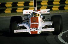 "f1-motor-und-sport: ""Guy Edwards, Lola-Ford T370, 1974 Argentine GP, Buenos Aires """