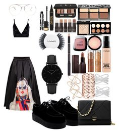 """""""Fashion show"""" by madisonkiss on Polyvore featuring Boohoo, Effy Jewelry, Sephora Collection, NYX, Givenchy, MAC Cosmetics, Laura Mercier, L'Oréal Paris, Michael Kors and CLUSE"""