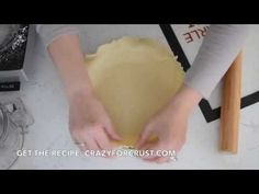 This is my FAVORITE all butter pie crust recipe, including a step-by-step photo tutorial and video tutorial to take the guess work out of making pie crust!