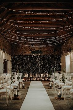 Aimee and Marks Romantic, Organic and Cosy Candles and Foliage Filled Scottish Wedding by Lena and Patrick - Boho Weddin Wedding Goals, Wedding Planning, Wedding Blog, Best Wedding Venues, Indoor Wedding Venues, Winter Wedding Venue, Night Wedding Ceremony, Rustic Church Wedding, Romantic Wedding Decor