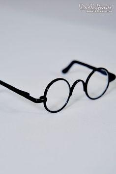 Black Frame round glasses