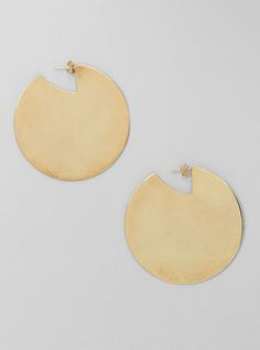 Couverture and The Garbstore - Womens - Aesa - Solar Disks Earrings Clothing, Shoes & Jewelry: http://amzn.to/2iTBsa9