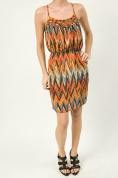 Lattice Front Dress fm Charlie Jade $158 http://www.shopmapel.com/products.html?productId=27047
