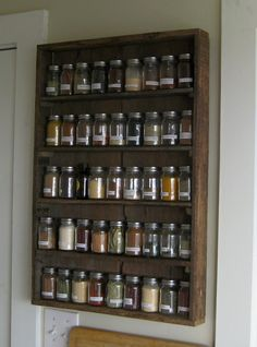 My kind of spice rack.