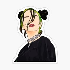 Billie Eilish stickers featuring millions of original designs created by independent artists. Decorate your laptops, water bottles, notebooks and windows. White or transparent. 4 sizes available. Stickers Kawaii, Preppy Stickers, Cool Stickers, Printable Stickers, Laptop Stickers, Billie Eilish, Homemade Stickers, Bubble Stickers, Aesthetic Stickers