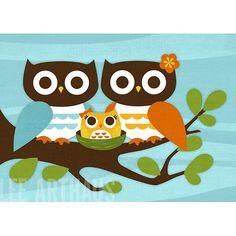 #Owl Print, Family