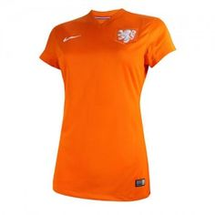 Het Nederlands elftal dames shirt voor het WK 2014.