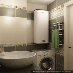 Дизайн ванной комнаты 4-5 кв.м. после ремонта