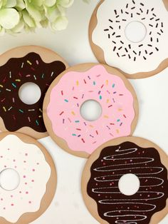 DIY Donut Decor #12monthsofmartha #marthastewartcrafts
