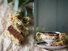 Banting Buttermilk Rusk Recipe with sunflower seeds, pumpkin seeds, almond flour and coconut. Low carb and sugar free recipe. Sugar Free Baking, Sugar Free Desserts, Gluten Free Baking, Healthy Baking, Healthy Food, Free Keto Recipes, Banting Recipes, Low Carb Recipes, Easy Recipes
