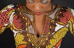 African print empress dress by Gitas PORTAL on Etsy, $111.00