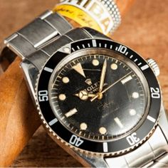 Rolex Submariner 6536 Joyeria Riviera - montre de collection - Rolex vintage