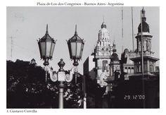 Plaza de los dos Congresos - Buenos Aires - Argentina.
