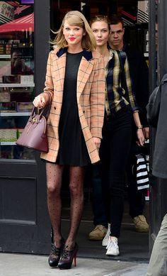 Celebs en otoño: Taylor Swift y Karlie Kloss.