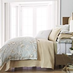 Peacock Alley Charleston Duvet Collection