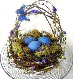 Natural easter egg decorating ideas