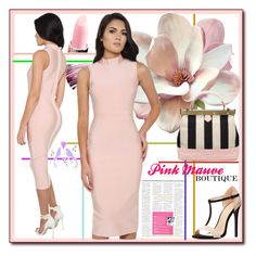 """""""Pink Mauve Boutique5."""" by esma178 ❤ liked on Polyvore featuring Yves Saint Laurent, Charlotte Russe, women's clothing, women, female, woman, misses and juniors"""