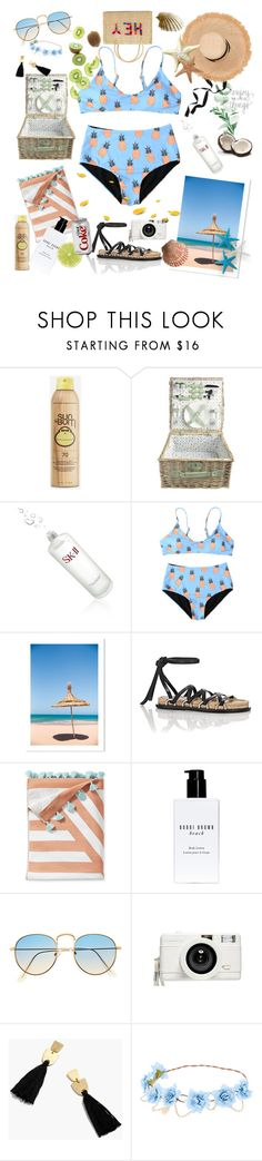 """🐚Gonna Holiday To Maldives This Week 🐚"" by yoanaxoxo ❤ liked on Polyvore featuring Sun Bum, Audra, SK-II, Alexander Wang, Serena & Lily, Bobbi Brown Cosmetics, Lomography, Madewell, Nannacay and beach"