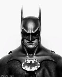 Michael Keaton/Batman - Batman Art - Ideas of Batman Art - Michael Keaton/Batman Batman Batcave, Batman And Catwoman, Batman Vs Superman, Batman Robin, Marvel Wolverine, Batman Arkham, Batman Painting, Batman Artwork, Batman Returns