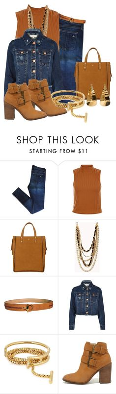 """""""Untitled #1293"""" by rubarr ❤ liked on Polyvore featuring rag & bone, New Look, Fontana Milano 1915, Forever 21, Gucci, River Island, Eddie Borgo and Steve Madden"""