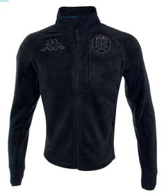 Kappa Men Italian Team FISI Fleece Jacket - Black (Limited Edition)