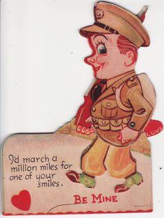 soldier vintage Valentine
