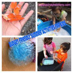 Budget Friendly Summer Activities for Kids Part 2 - Happy Pinay Mommy Kids Part, Summer Activities For Kids, Summertime, Budgeting, Children, Happy, Fun, Kids Summer Activities, Young Children