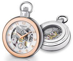 #Baselworld 2014 : #Tissot présente la Pocket Mechanical Skeleton #watches #WWG