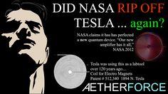 Tesla_Nasa_rip_off. Nikola Tesla, Tesla S, Tesla Technology, Energy Technology, Tesla Patents, Tesla Quotes, Porsche 911 Carrera S, Quantum Physics, Physics Theories