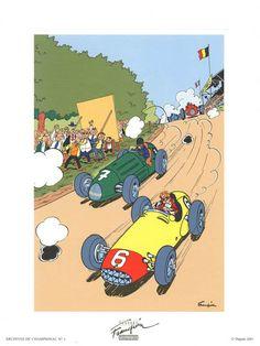 Franquin - La course