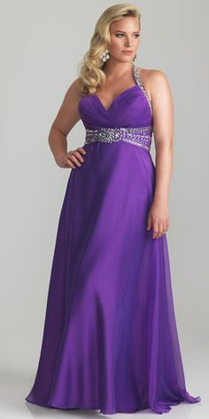 A-Line/Princess Halter Beading Sleeveless Sweep/Brush Train Chiffon Plus Size Prom Dresses Vestidos Plus Size, Plus Size Gowns, Plus Size Prom Dresses, Cheap Evening Dresses, Evening Gowns, Evening Party, Long Formal Gowns, Formal Dresses, Long Dresses