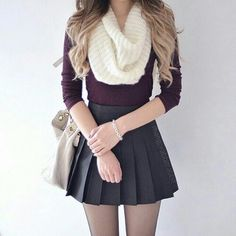 I'd love to go preppy/basic white girl sometime! … - Tap the LINK now… - I& love to go preppy/basic white girl sometime! … & Tap the LINK now to see all our amazing accessories, that we have found for a fraction of the price < Chic Winter Outfits, Winter Outfits For Work, Fall Outfits, Autumn Outfits For Teen Girls, Winter Outfits Tumblr, Cheap Outfits, Christmas Outfits, Summer School Outfits, College Outfits