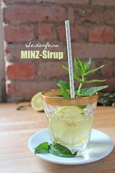 seidenfeins Blog vom schönen Landleben: Minzsirup * Mint syrup