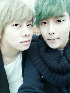 Heechul & Ryeowook