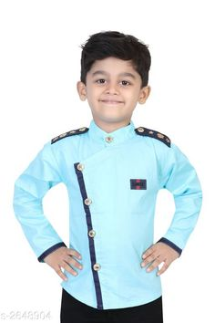 Checkout this latest Shirts Product Name: *Trendy Elite Kid's Shirt* Fabric: Cotton Sleeve Length: Long Sleeves Pattern: Printed Multipack: 1 Sizes:  5-6 Years, 6-7 Years, 7-8 Years, 8-9 Years, 9-10 Years, 10-11 Years Easy Returns Available In Case Of Any Issue   Catalog Rating: ★4 (303)  Catalog Name: Elegant Elite Kid'S Shirts Vol 16 CatalogID_358181 C59-SC1174 Code: 663-2648904-198
