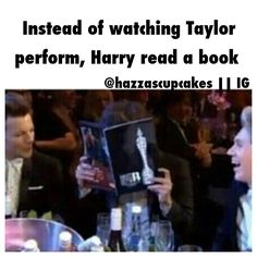 HAAHAHAHA!!!! Lol Harry would of done the same thing! At least harry survived the horrible relationship of Haylor cause i know i didnt