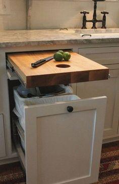 Unique Kitchen Storage Ideas – BEST Photos and Galleries Tags: Kitchen … – Home Decoration Diy Kitchen Storage, Diy Storage, Home Decor Kitchen, Home Kitchens, Kitchen Design, Kitchen Ideas, Storage Ideas, Storage Solutions, Storage Hacks