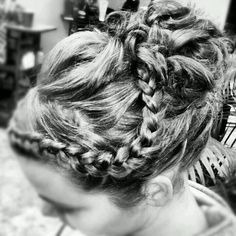 #updo #hair #braids