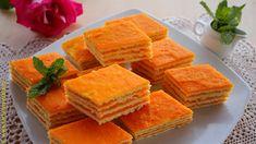 Prajitura cu foi si crema cu morcovi | Farfuria vesela Romanian Desserts, No Cook Desserts, Deserts, Sweets, Make It Yourself, Cooking, Ethnic Recipes, Youtube, Videos