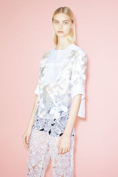 peter pilotto resort 2014 // Learn how to hand render lace: http://www.universityoffashion.com/lessons/rendering-lace/